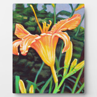Day Lily Plaque