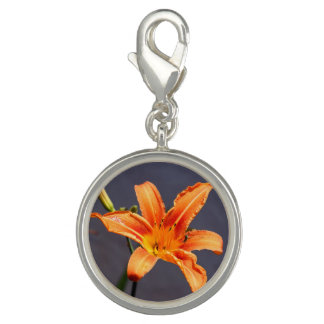 Day Lily with Critter Charm