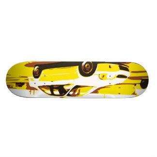 Day Night Car Series. Deck One Skateboard