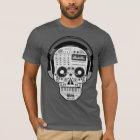 Day Of Dead Sugar Skull w/ Turntables & Headphones T-Shirt