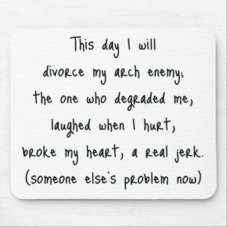 Day of Divorce Souvenir Mouse Pad