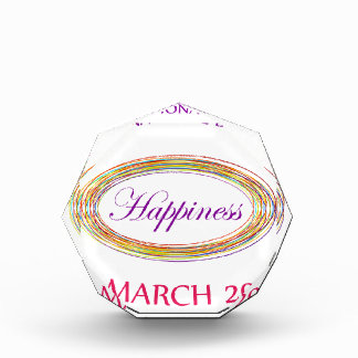Day of Happiness- Commemorative Day March 20