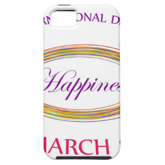 Day of Happiness- Commemorative Day March 20 iPhone 5 Covers