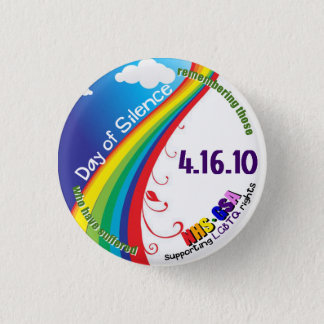 Day of Silence 1 Inch Round Button