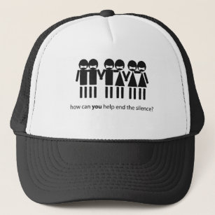 Day Of Silence Trucker Hat