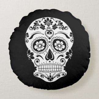 DAY OF THE DEAD 1 ROUND PILLOW