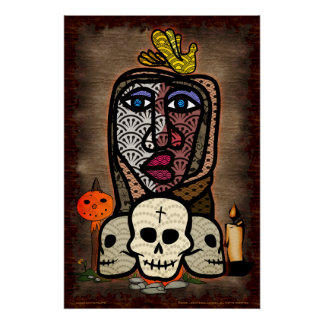 Day Of The Dead Altar Poster