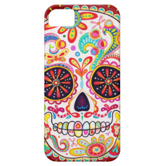 Day of the Dead Art iPhone 5 Barely There Case