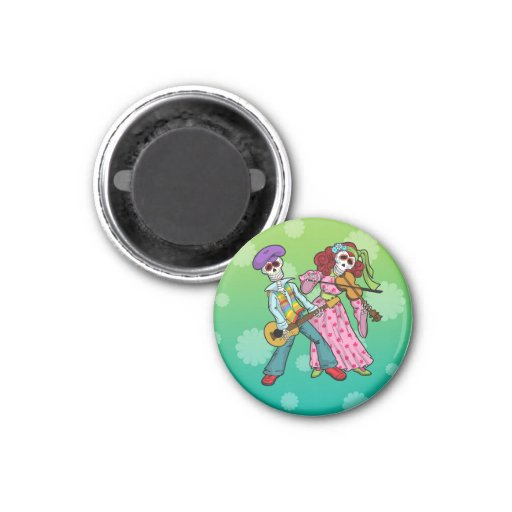 Day of the Dead Band Magnet