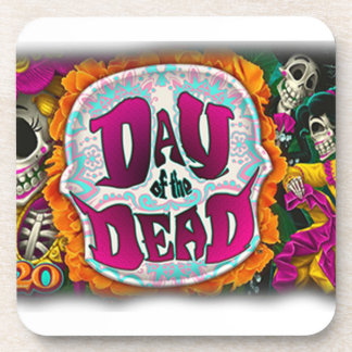 Day of the Dead Beverage Coasters