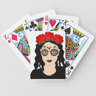 Day of the Dead Bicycle Playing Cards