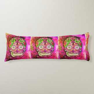 Day of the Dead Body Pillow