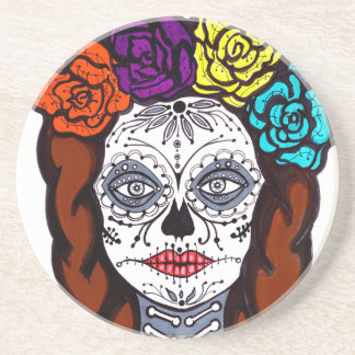 Day of the Dead Bride Coasters