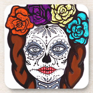 Day of the Dead Bride Drink Coasters