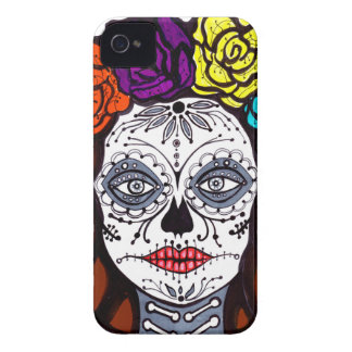 Day of the Dead Bride iPhone 4 Cases