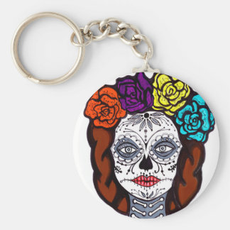 Day of the Dead Bride Keychain