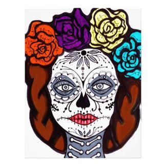 Day of the Dead Bride Letterhead
