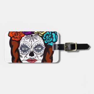 Day of the Dead Bride Luggage Tag