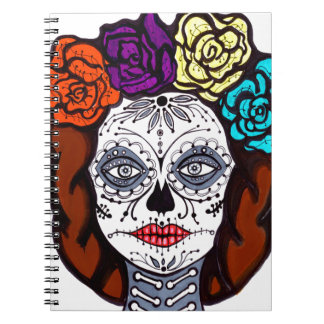 Day of the Dead Bride Notebook