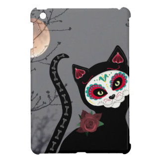 Day of the Dead Cat iPad Mini Covers