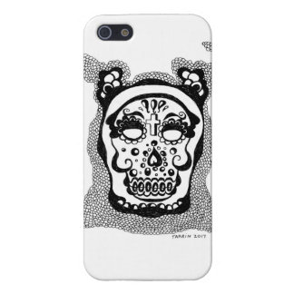 day of the dead cell phone cover