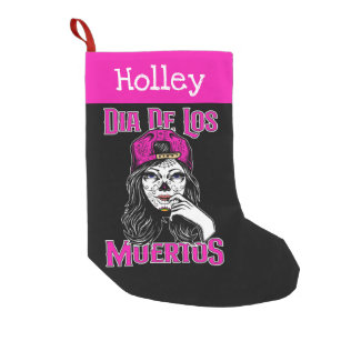Dia De Los Muertos Christmas Stocking