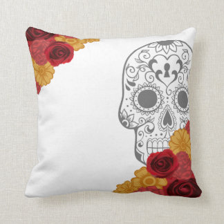 Day of the Dead Dia Los Muertos Throw Pillow