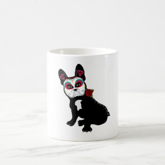 Day of the Dead Frenchie Coffee Mug