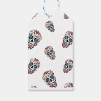 Day of the Dead Gift Wrapping Gift Tags
