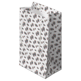 Day of the Dead Gift Wrapping Small Gift Bag