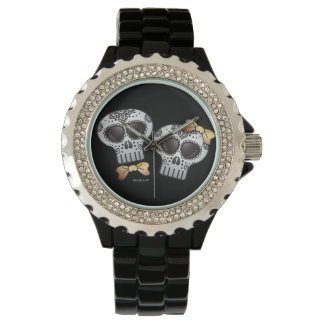 Day of the Dead Halloween Skull Dia de los Muertos Watch