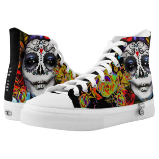 Day of the Dead High Tops