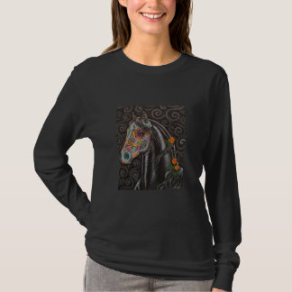 Day of the Dead Horse T-Shirt