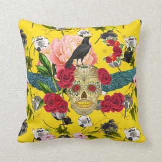 Day of the Dead  I  Dia De Los Muertos Pillow