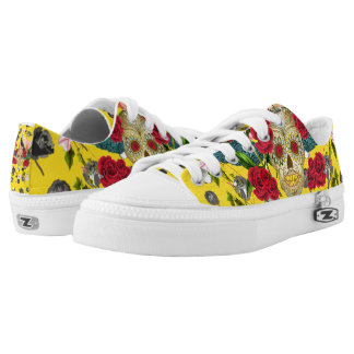 Day of the Dead  I  Dia De Los Muertos Sneaks Low-Top Sneakers