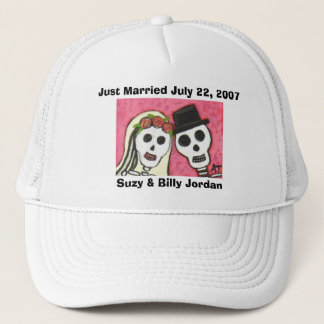 Day of the Dead - Just Married cap