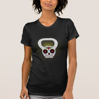 Day of the Dead Kettle Bell T-shirt