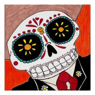 Day of the Dead Mariachi Poster