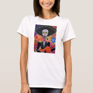 DAY OF THE DEAD MARIACHI   SHIRT