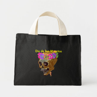 Day of the Dead Mini Tote Bag