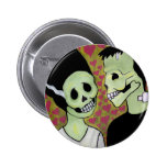 Day of the Dead Monster Love Pins