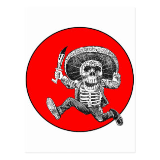 Day of the Dead Motif 2 Postcard