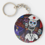 DAY OF THE DEAD NURSE BY PRISTINE CARTERA TURKUS KEY CHAIN