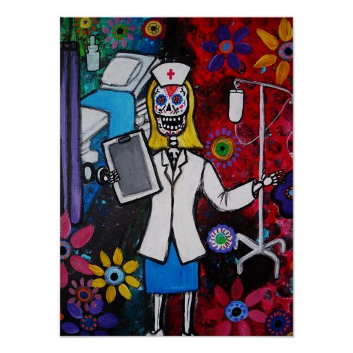 day of the dead nurse
