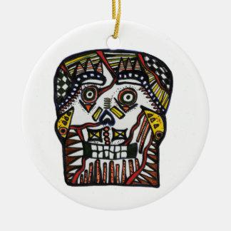 Day of the Dead Ornament Skull