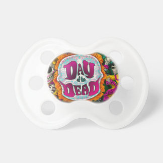 Day of the Dead Pacifier