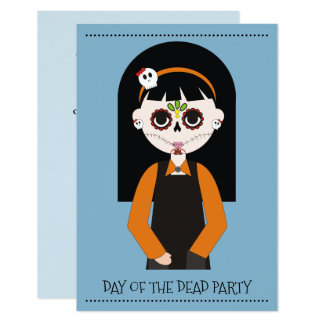 Day Of The Dead Party Invitations