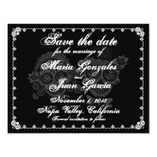 Day of the Dead Save the Date Announcements