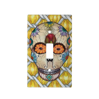 Day of the Dead single  light switch plate
