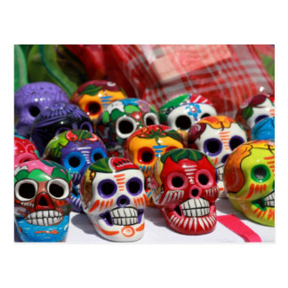 Day Of The Dead Skeletons Postcard